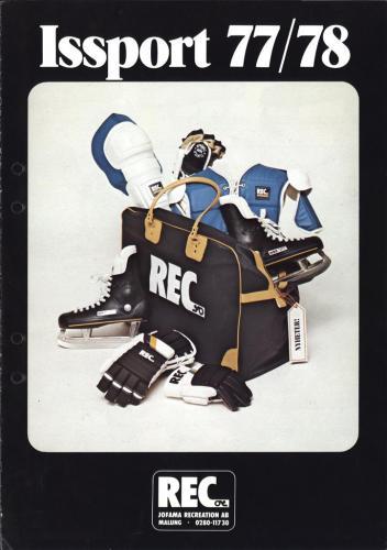 REC Issport 1977-78 Blad01