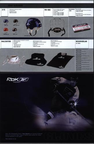 Rbk jofa Hockeyutrustning 2005 Blad11
