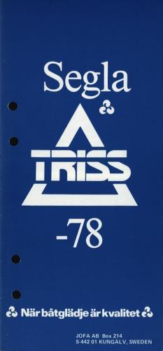 Segla Triss -78 Blad01