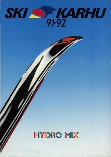 Ski Karhu 91-92 Blad01