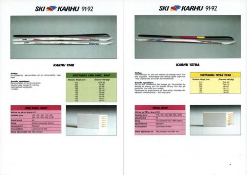 Ski Karhu 91-92 Blad05