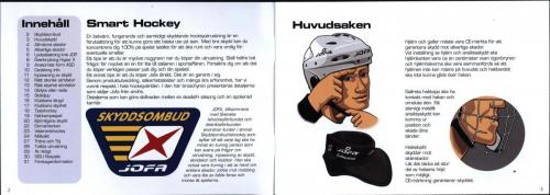 Smart hockey utbildningsmaterial JOFA 02