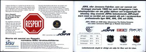 Smart hockey utbildningsmaterial JOFA 16