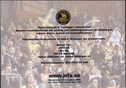 Smart hockey utbildningsmaterial JOFA 17