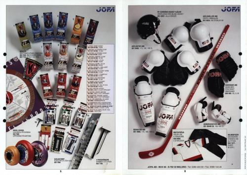 Street och inline hockey Jofa 97 Blad03
