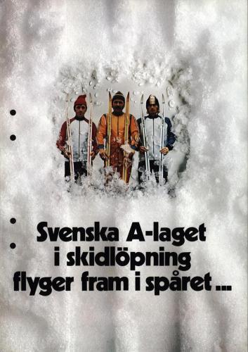 Svenska A-laget i skidlopning 01