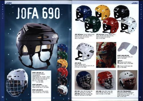 The hockey company JOFA 1999 Blad06