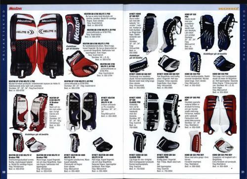 The hockey company JOFA 1999 Blad16
