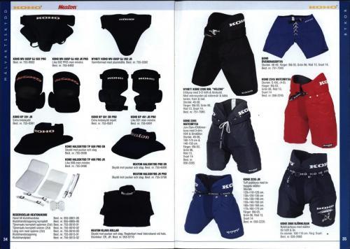 The hockey company JOFA 1999 Blad18