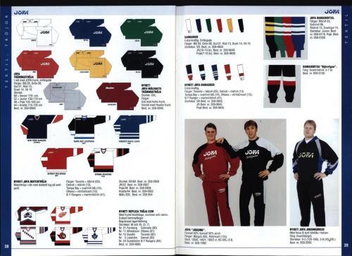 The hockey company JOFA 1999 Blad20