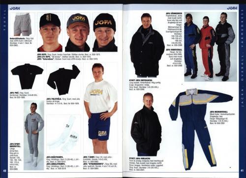 The hockey company JOFA 1999 Blad21