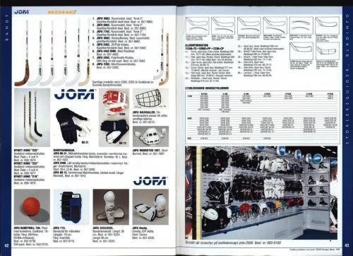 The hockey company JOFA 1999 Blad22