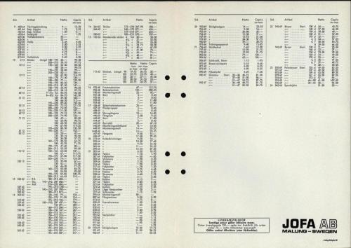jofa sportkatalog 1971-72 skidsport nettoprislista 02