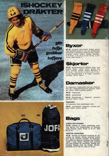 jofa sportkatalog 1973-74 Issport Blad 17