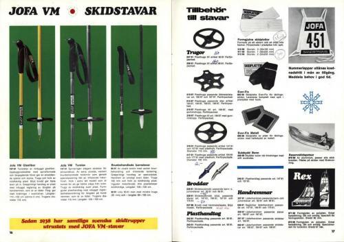 jofa sportkatalog 1973-74 Skidsport Blad11