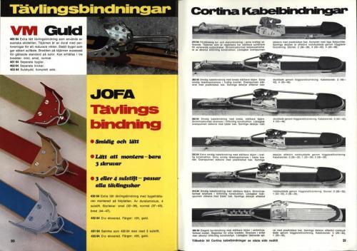 jofa sportkatalog 1973-74 Skidsport Blad13