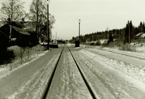 1970-tal Järnvägen Sälen
