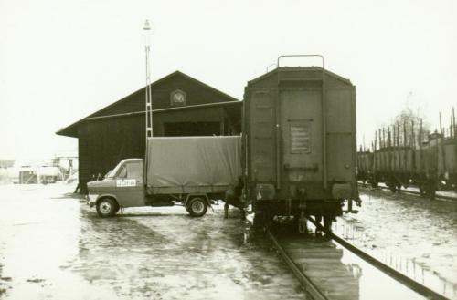 1971-72 nyår JOFA Lastar i godsvagn