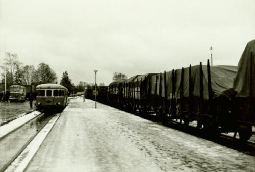 1971-72 nyår Sista tåget från Särna