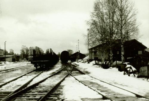 Nyår 1971-72 stationen