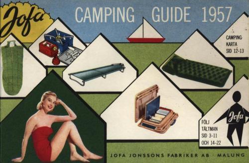 JOFA Oskar Camping Jofa 1957 campingguiden 0345
