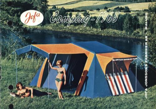 JOFA Oskar Camping Jofa camping 1965 0425