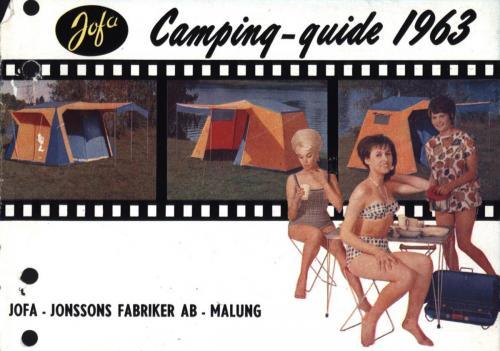 JOFA Oskar Camping Jofa campingguide 1963 0428