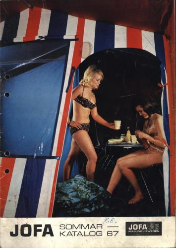 JOFA Oskar Camping Jofa sommarkatalog 1967 0431