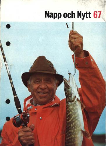 JOFA Oskar Fiske ABU Napp och Nytt 1967