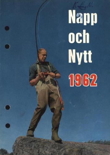 JOFA Oskar Fiske ABU Napp och Nytt 1962