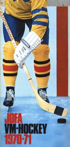 JOFA Oskar Hockey 1970 VM-hockey 0645