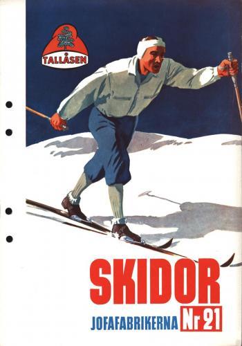 JOFA Oskar Längdåkning 1943 0607