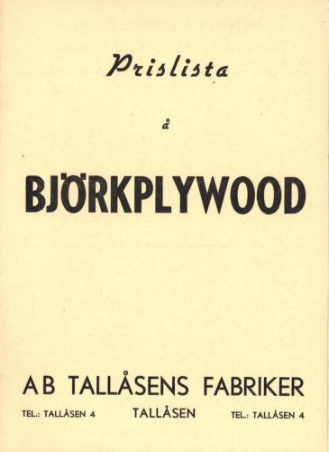 JOFA Oskar Möbler Björkplywood 0673
