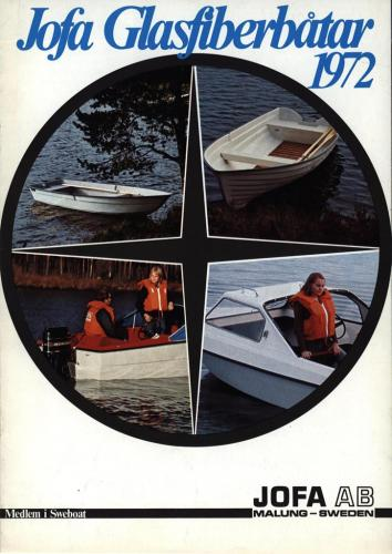 JOFA Oskar Sportbåtar Jofa glasfiberbåtar 1972 0084