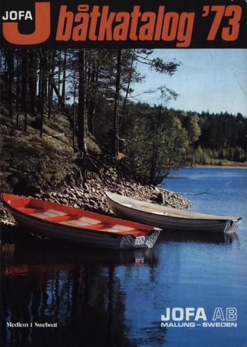 JOFA Oskar Sportbåtar Jofa båtkatalog 73 0090