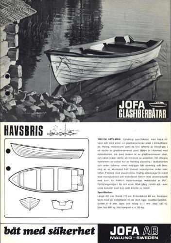 JOFA Oskar Sportbåtar Jofa Havsbris 0494