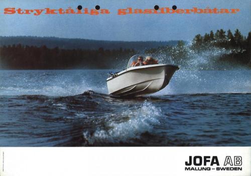 JOFA Oskar Sportbåtar Jofa stryktåliga glasfiberbåtar 0506