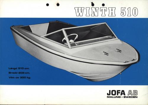 JOFA Oskar Sportbåtar Jofa Winth 510 0507