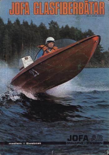 JOFA Oskar Sportbåtar Jofa glasfiberbåtar 0646