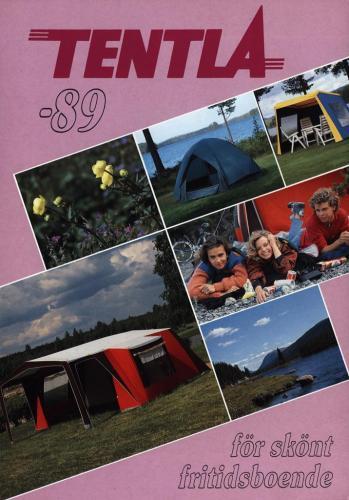 JOFA Volvo Camping & Tält Tentla för skönt fritidsboende 89 0208