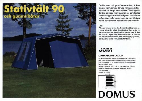 JOFA Volvo Camping & Tält Jofa domus 0213
