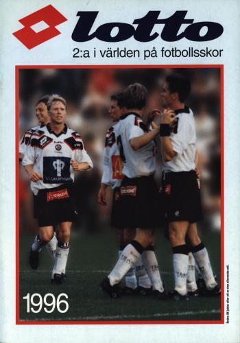 JOFA Volvo Fotboll lotto 2a i världen på fotbollsskor 1996 0254