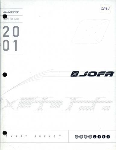 JOFA Volvo Hockey JOFA-katalog Canada 2001 0006