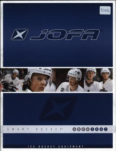 JOFA Volvo Hockey JOFA smart hockey 2001 ice hockey equipment 0012