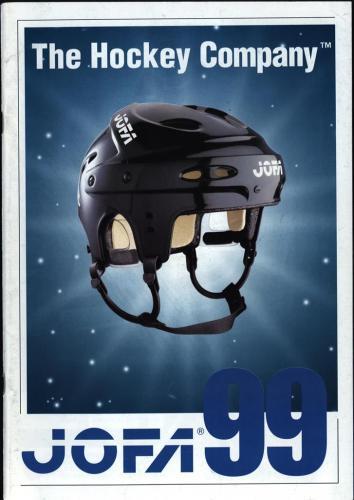 JOFA Volvo Hockey The hockey company JOFA 1999 0014