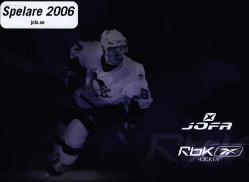 JOFA Volvo Hockey Rbk jofa spelare 2006 0021