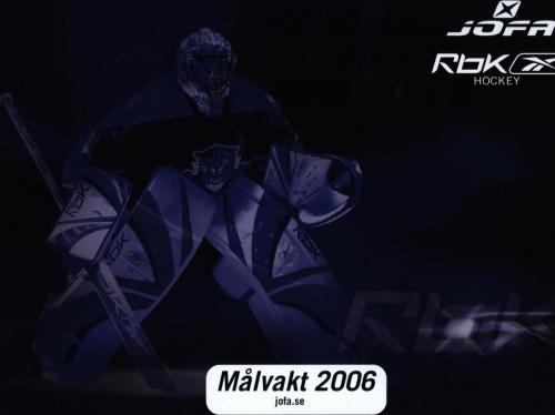 JOFA Volvo Hockey Jofa rbk Målvakt 2006 0026