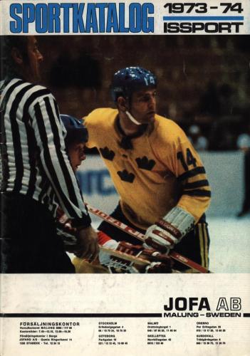 JOFA Volvo Hockey jofa sportkatalog 1973-74 Issport 0094