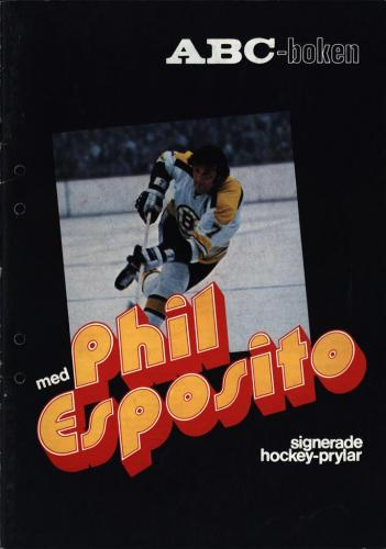 JOFA Volvo Hockey ABC-boken med Phil Esposito 0096
