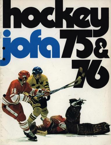 JOFA Volvo Hockey Jofa Hockey 75-76 0105